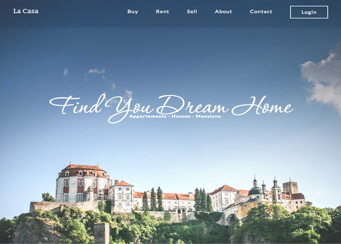 Dream Home Responsive Design
